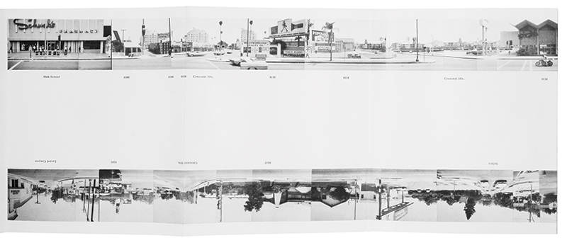 Every Building on the Sunset Strip  (Ed Ruscha, 1966)