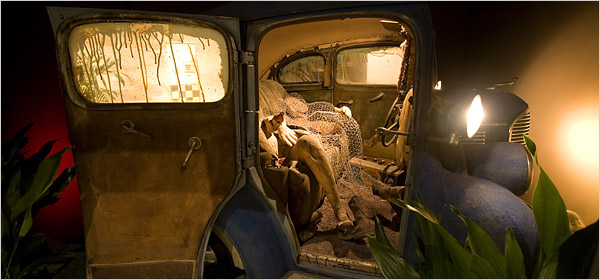 Back Seat Dodge '38  (Ed Kienholtz, Los Angeles County Museum Art, 1964)
