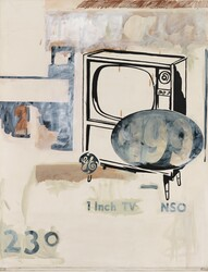 $199 Television  (Andy Warhol, Whitney Museum of American Art, 1961)