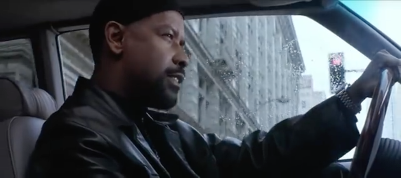 Denzel Washington as Alonzo Harris in  Training Day  (Antoine Fuqua, Warner Brothers, 2001)