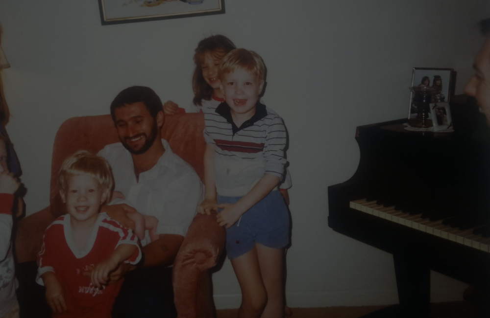 What is your first memory of the piano? -