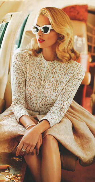 key-retro-style-type-fashion-white-top-sunglasses-blonde-hair-tan-skirt-beige-jetsetter-vintage-modern.jpg