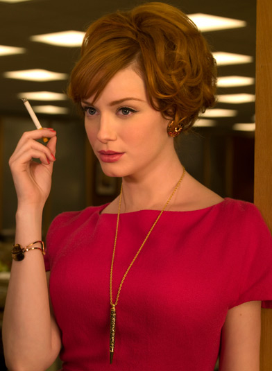 jewelry-retro-style-type-fashion-madmen-joan-necklace-pend-bangs-pink-dress.jpg