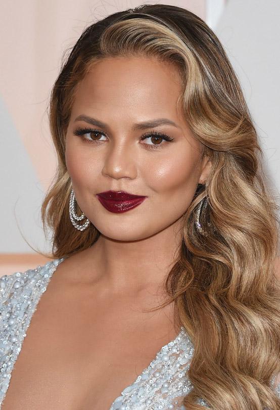 makeup-berrylip-bombshell-sexy-style-type-chrissyteigen-red-hoop-earrings-sequin-dress-wavy-hair-blonde.jpg