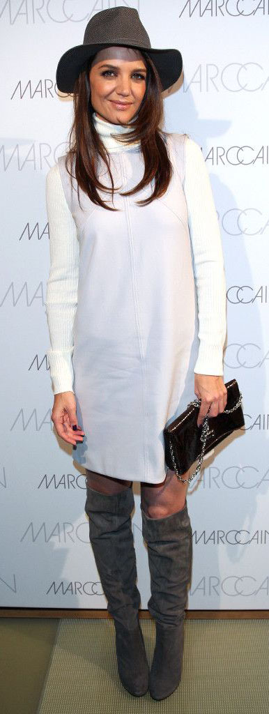 celebrity-natural-sporty-style-type-katieholmes-white-dress-turtleneck-sweater-gray-knee-boots-hat.jpg
