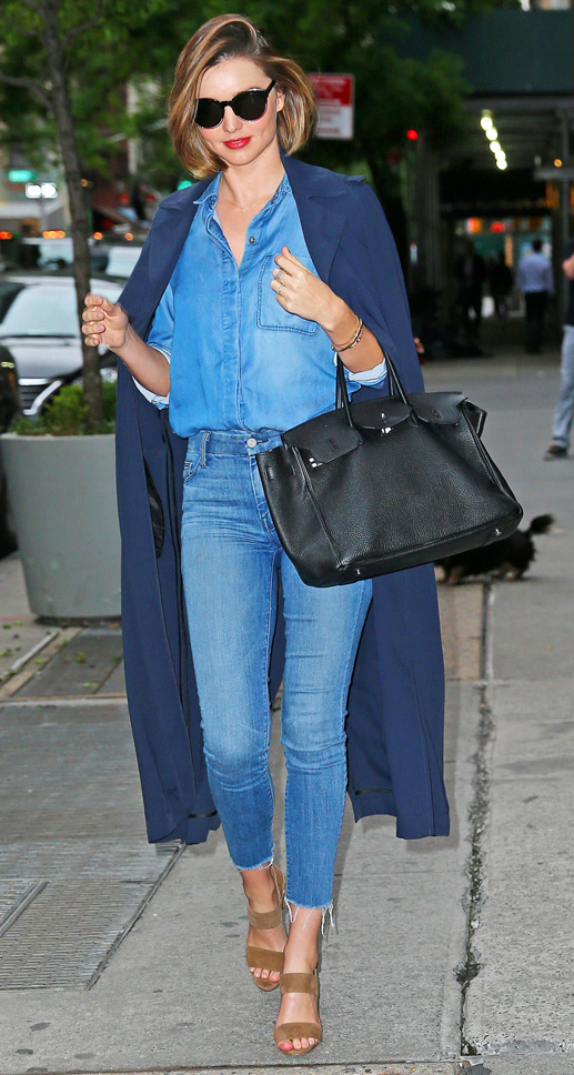blue-med-skinny-jeans-blue-med-top-collared-shirt-blue-navy-jacket-coat-mirandakerr-black-bag-sun-tan-shoe-sandalh-fashion-hairr-spring-summer-classic-lunch.jpg