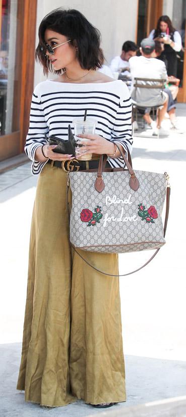 tan-wideleg-pants-white-top-stripe-belt-sun-vanessahudgens-spring-summer-brun-lunch.jpg