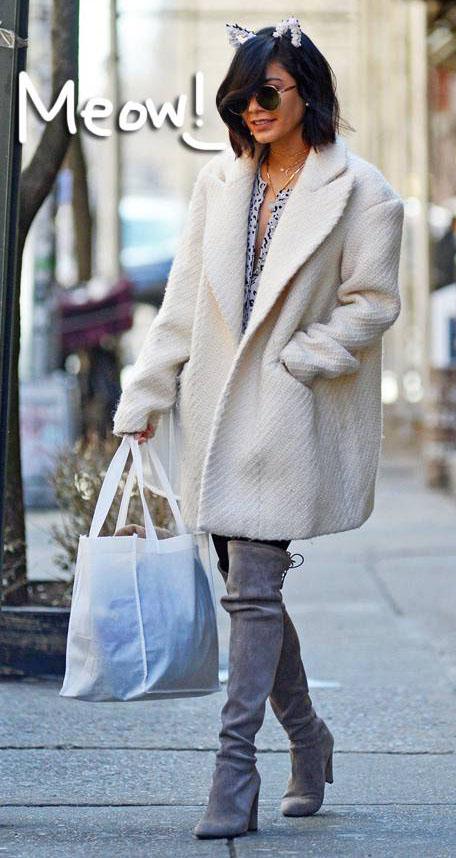 white-jacket-coat-catears-gray-shoe-boots-overknee-vanessahudgens-fall-winter-brun-lunch.jpg