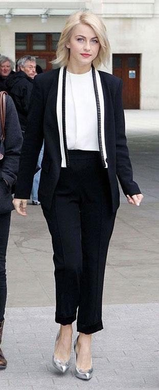 black-slim-pants-white-top-black-jacket-blazer-suit-gray-shoe-pumps-juliannehough-blonde-fall-winter-work.jpg