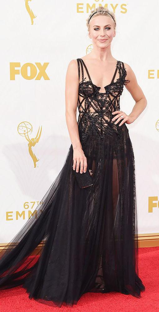 black-dress-gown-corset-sheer-head-juliannehough-blonde-spring-summer-elegant.jpg