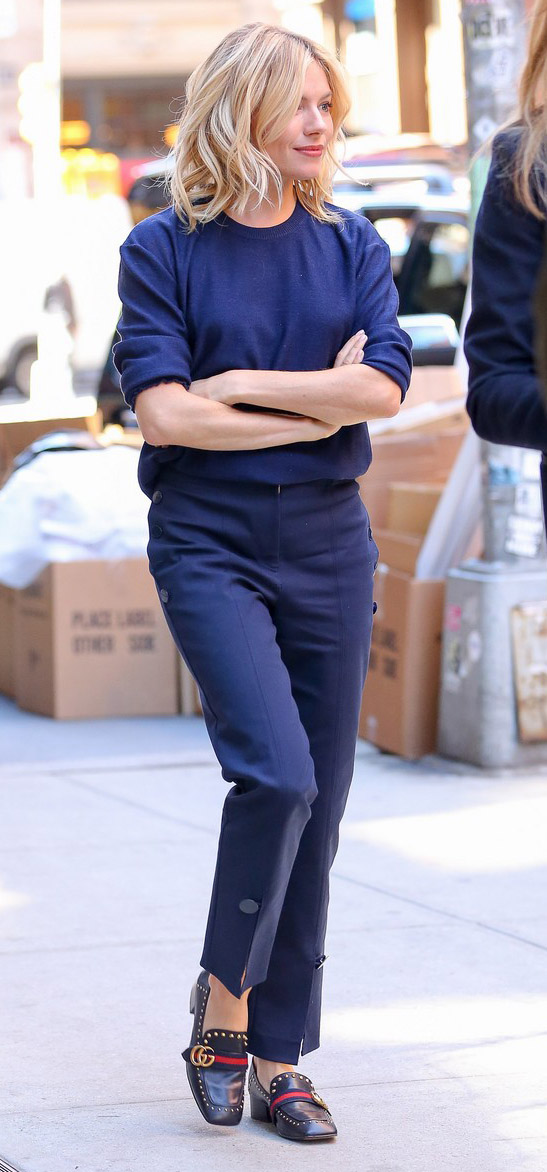 blue-navy-slim-pants-blue-navy-sweater-blue-shoe-loafers-siennamiller-fall-winter-blonde-work.jpg
