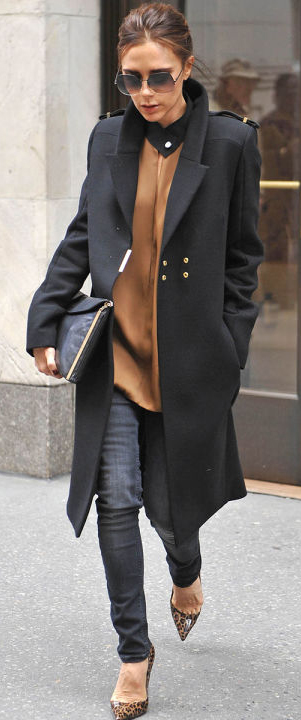 black-skinny-jeans-camel-top-blouse-black-jacket-coat-sun-cognac-shoe-pumps-leopard-print-victoriabeckham-brun-fall-winter-work.jpg