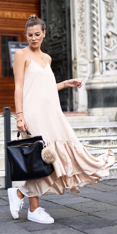 tan-dress-slip-maxi-black-bag-white-shoe-sneakers-bun-howtowear-spring-summer-hairr-weekend.jpg