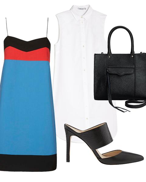 blue-med-dress-slip-stripe-white-top-black-shoe-pumps-mules-black-bag-tote-howtowear-spring-summer-work.jpg
