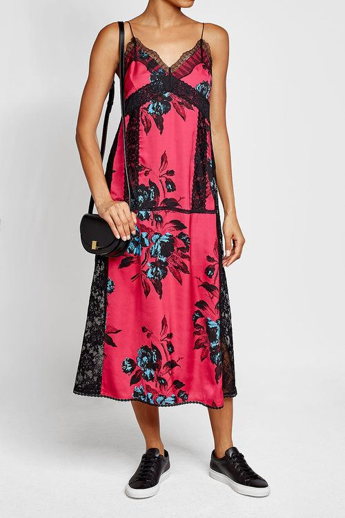 pink-magenta-dress-slip-floral-print-black-bag-lace-black-shoe-sneakers-spring-summer-weekend.jpg