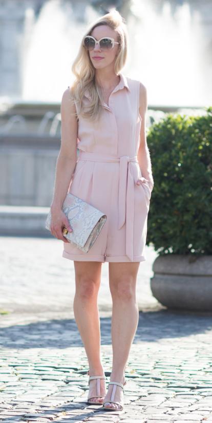pink-light-jumper-romper-white-bag-clutch-blonde-sun-spring-summer-lunch.jpg