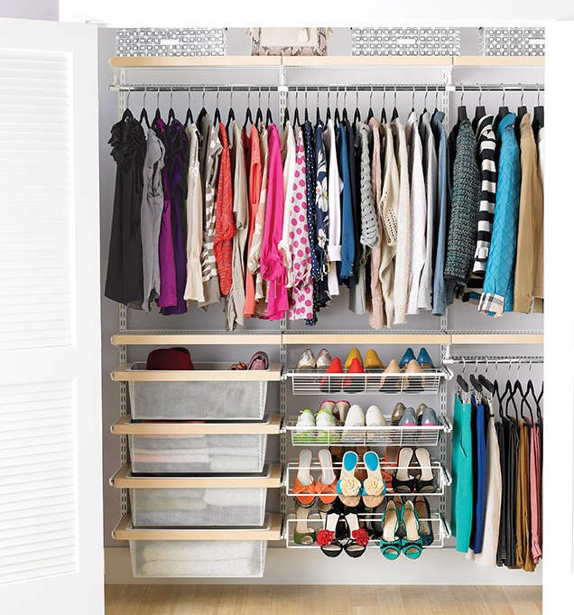 how-to-organize-your-clothes-wardrobe-storage-shelves-handbags-shoes-folded-elfa-by-color-container-store.jpg