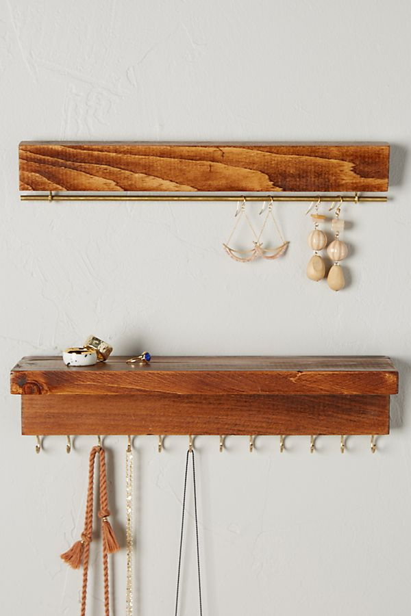Hanging Jewelry Organizer, $40 at Anthropologie - Hang up your goodies on these racks from Anthropologie!