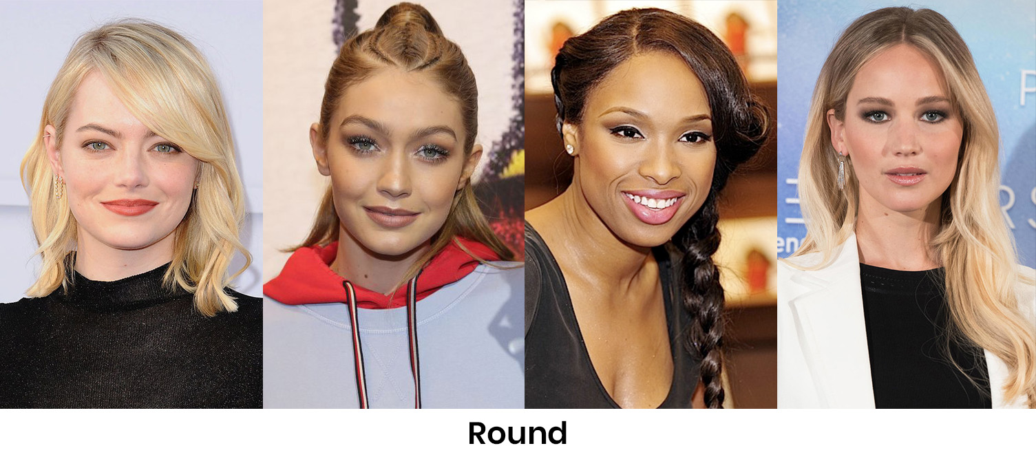 Round Face Shape Howtowear Fashion