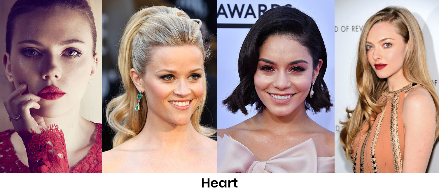 Defining characteristic: A broader upper area of your face and you have a natural lift in your features.
