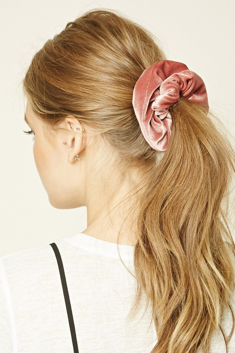 how-to-style-hair-accessories-scrunchies-hairstyles-ways-to-wear-ponytail-pink-velvet.jpg