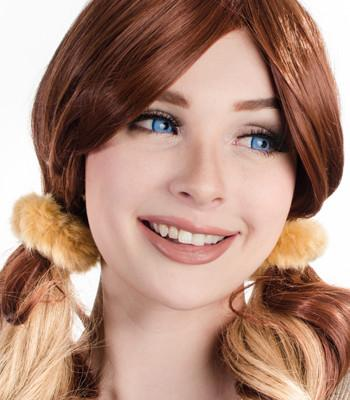 how-to-style-hair-accessories-scrunchies-hairstyles-ways-to-wear-pigtails-redhair-yellow-fuzzy.jpg