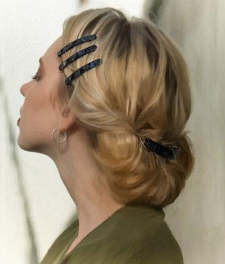 one-side-how-to-style-hair-accessories-clip-barrettes-black-triple-three-blonde-updo-work-office.jpg