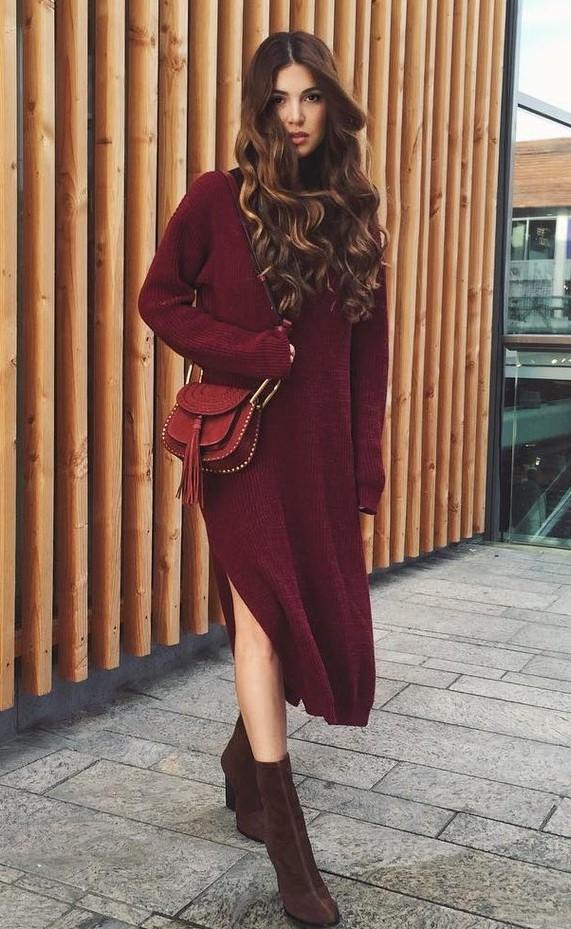 burgundy-dress-sweater-hairr-cognac-bag-brown-shoe-booties-tonal-fall-winter-thanksgiving-outfits-lunch.jpg