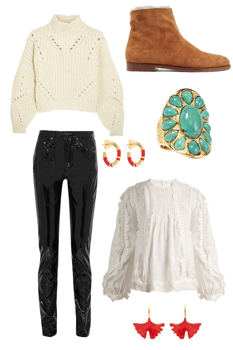 black-leggings-leather-white-sweater-turtleneck-earrings-ring-turquoise-cognac-shoe-booties-fall-winter-thanksgiving-outfits-holidays-lunch.jpg