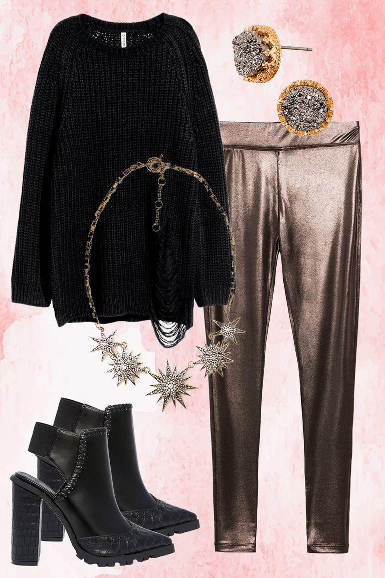 brown-leggings-metallic-studs-necklace-black-sweater-black-shoe-booties-fall-winter-thanksgiving-outfits-dinner.jpg