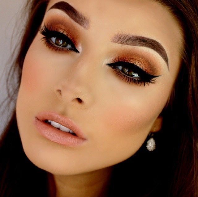 makeup-for-thanksgiving-fall-autumn-warm-colors-bronze-brown-eyeliner-wing-black-nude-lips.jpg