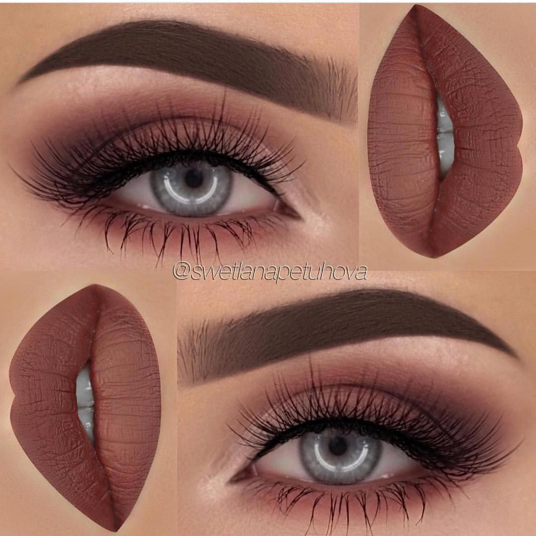 makeup-for-thanksgiving-fall-autumn-warm-colors-brown-monochromatic-eyeshadow-lips-blue-eyes.jpg