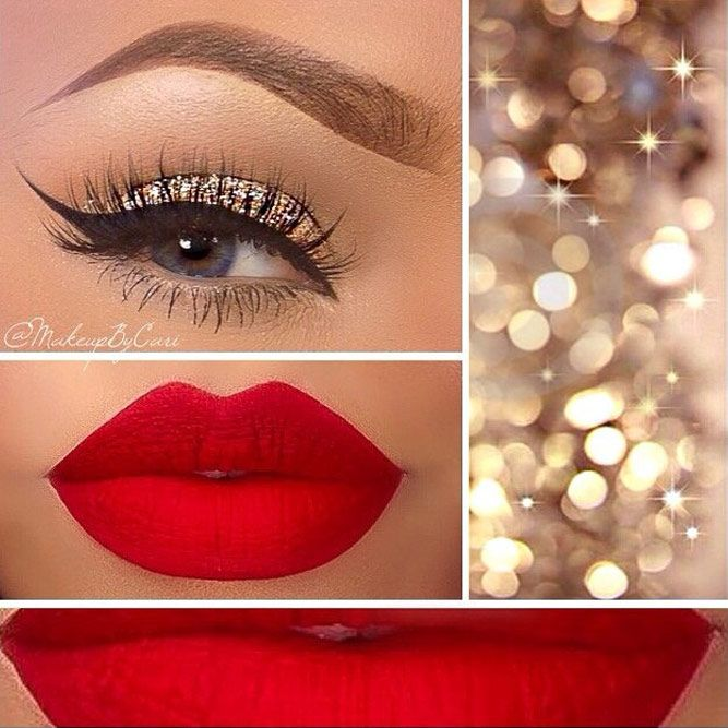 makeup-style-what-to-wear-christmas-day-dinner-holiday-outfits-winter-gold-glitter-winged-eyeliner.jpg