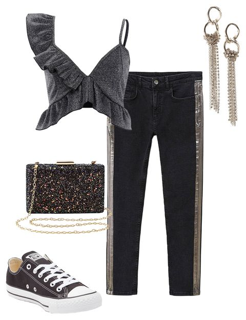 black-skinny-jeans-tuxedo-black-crop-top-ruffle-black-shoe-sneakers-earrings-monochromatic-fall-winter-nye-party-dinner.jpg