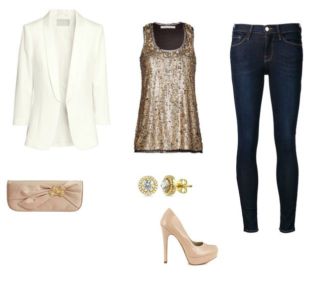 blue-navy-skinny-jeans-tan-cami-sequin-white-jacket-blazer-tan-shoe-pumps-studs-tan-bag-clutch-fall-winter-nye-dinner.jpg