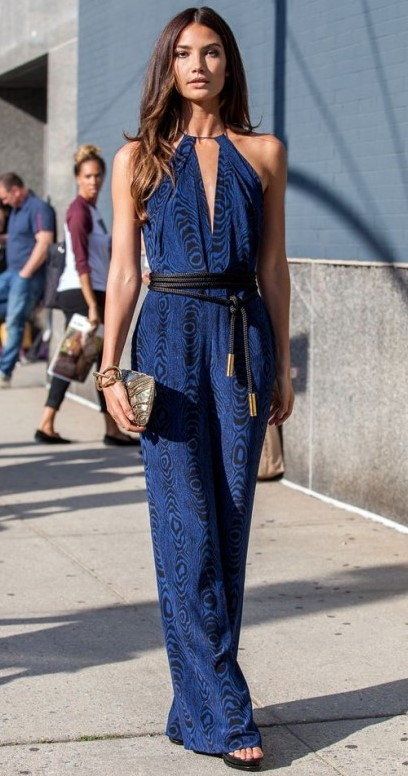 blue-navy-jumpsuit-belt-brun-bracelet-fall-winter-nye-dinner.jpg