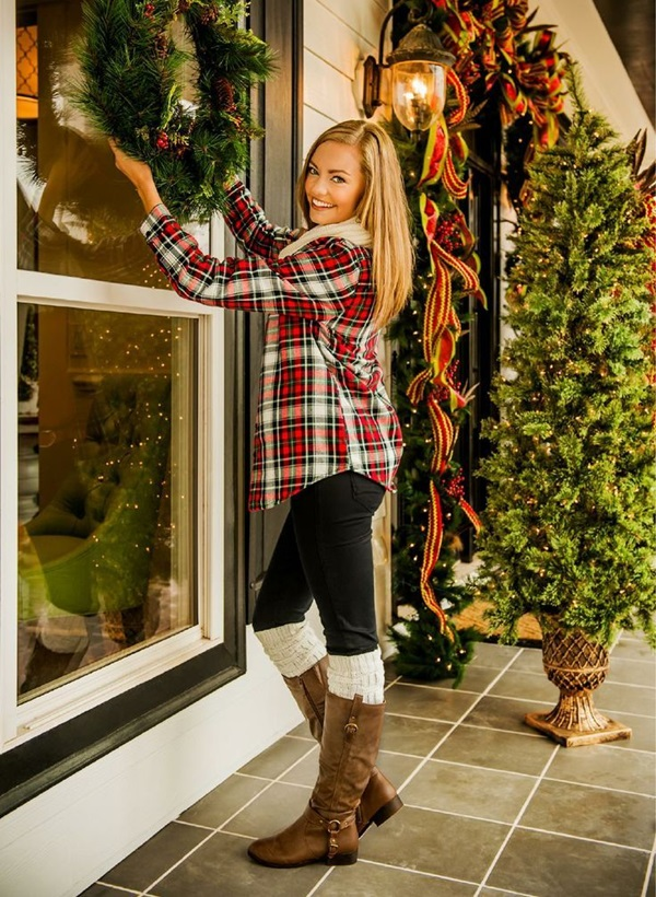 black-skinny-jeans-red-plaid-shirt-howtowear-fashion-style-outfit-fall-winter-brown-shoe-boots-socks-white-scarf-christmas-holiday-blonde-weekend.jpg
