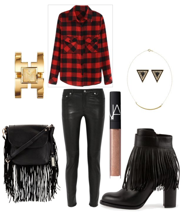 black-skinny-jeans-red-plaid-shirt-black-shoe-booties-bracelet-black-bag-fringe-howtowear-fashion-style-outfit-fall-winter-holiday-christmas-necklace-studs-lunch.jpg
