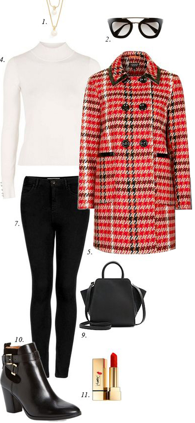 black-skinny-jeans-white-sweater-turtleneck-red-jacket-coat-plaid-black-bag-black-shoe-booties-sun-necklace-howtowear-fashion-style-outfit-fall-winter-holiday-lunch.jpg