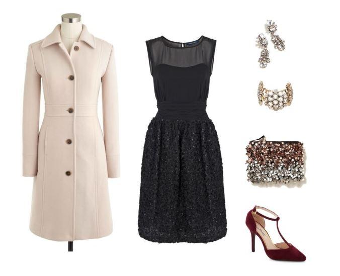 black-dress-white-jacket-coat-burgundy-shoe-pumps-tan-bag-clutch-earrings-bracelet-christmas-holidays-work-party-aline-tstrap-howtowear-fashion-style-outfit-fall-winter-dinner.jpg