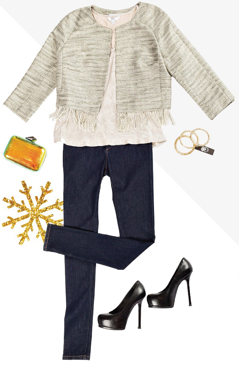 blue-navy-skinny-jeans-white-top-white-jacket-lady-black-shoe-pumps-bracelet-yellow-bag-clutch-howtowear-fashion-style-outfit-fall-winter-holiday-officeparty-work-dinner.jpg