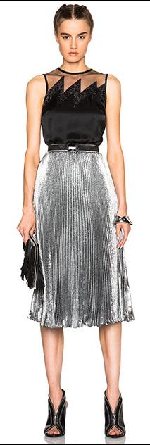 grayl-midi-skirt-black-top-black-bag-clutch-pleat-metallic-bun-black-shoe-pumps-howtowear-fashion-style-outfit-fall-winter-holiday-dinner.jpg
