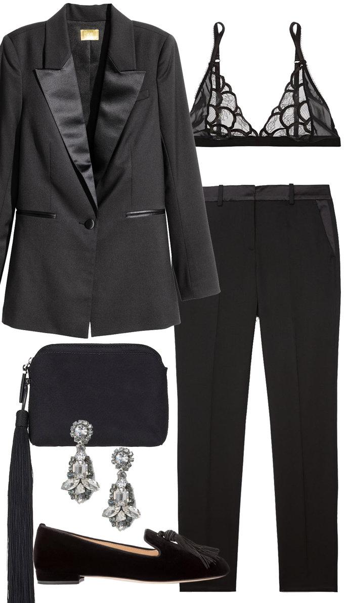 black-slim-pants-black-bralette-black-jacket-blazer-black-bag-clutch-black-shoe-flats-earrings-newyearseve-holidayhowtowear-fashion-style-outfit-fall-winter-dinner.jpg