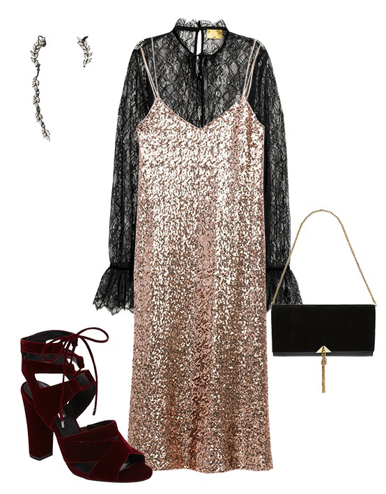 o-tan-dress-slip-black-top-blouse-lace-black-bag-earrings-sequin-burgundy-shoe-sandalh-howtowear-fashion-style-outfit-fall-winter-holiday-datenight-dinner.jpg