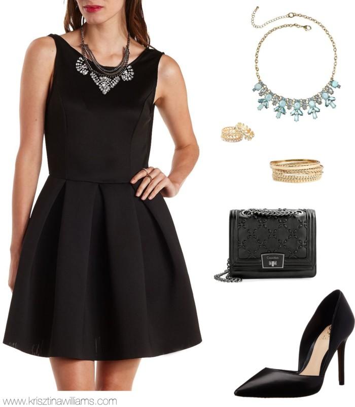 black-dress-mini-bib-necklace-black-bag-black-shoe-pumps-theater-bracelet-howtowear-fashion-style-outfit-fall-winter-holiday-dinner.jpg