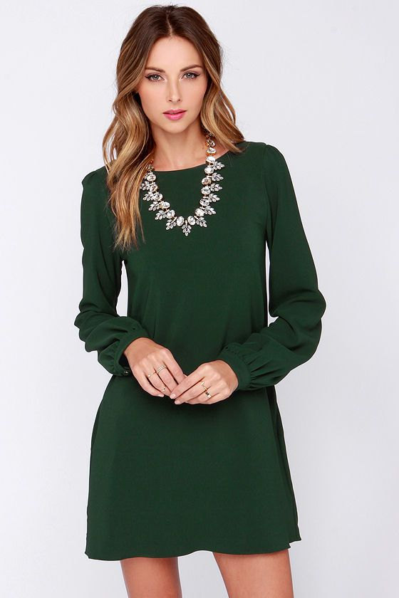 green-emerald-dress-mini-necklace-hairr-howtowear-fashion-style-outfit-fall-winter-holiday-dinner.jpg