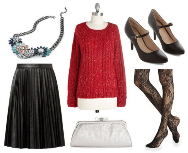 black-midi-skirt-red-sweater-black-tights-black-shoe-pumps-white-bag-clutch-bib-necklace-pleat-howtowear-fashion-style-outfit-fall-winter-holiday-dinner.jpg