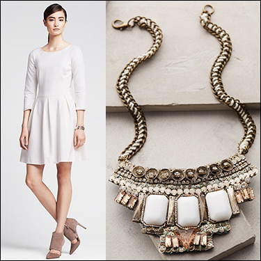white-dress-mini-lwd-bib-necklace-tan-shoe-pumps-office-party-howtowear-fashion-style-outfit-fall-winter-holiday-dinner.jpg