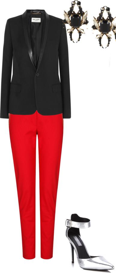 red-slim-pants-black-jacket-blazer-earrings-gray-shoe-pumps-metallic-howtowear-fashion-style-outfit-fall-winter-holiday-officeparty-dinner.jpg