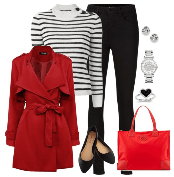 black-skinny-jeans-white-sweater-stripe-red-bag-studs-watch-black-shoe-flats-red-jacket-coat-trench-howtowear-valentinesday-outfit-fall-winter-lunch.jpg